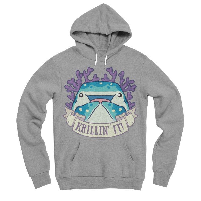 Krillin' It! (Whale Shark) Women's Sponge Fleece Pullover Hoody by Byte Size Treasure's Shop