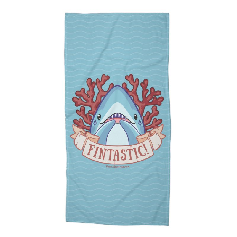 Fintastic! (Thresher Shark) Accessories Beach Towel by Byte Size Treasure's Shop