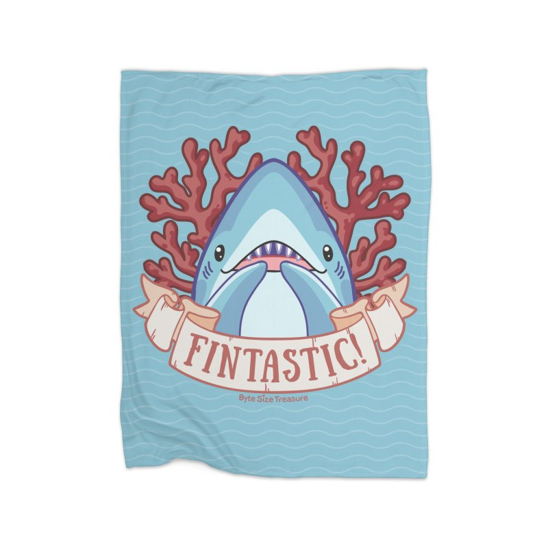Fintastic! (Thresher Shark) Home Blanket by Byte Size Treasure's Shop