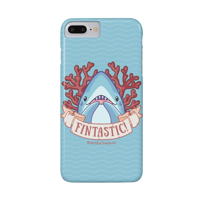 Fintastic! (Thresher Shark) in iPhone 7 Plus Phone Case Slim by Byte Size Treasure's Shop