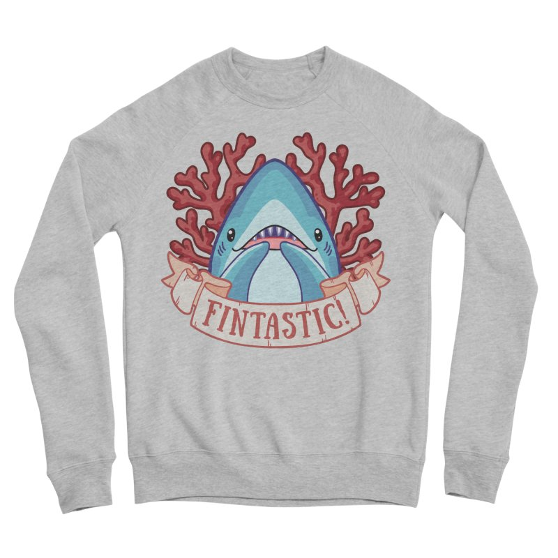 Fintastic! (Thresher Shark) Women's Sponge Fleece Sweatshirt by Byte Size Treasure's Shop