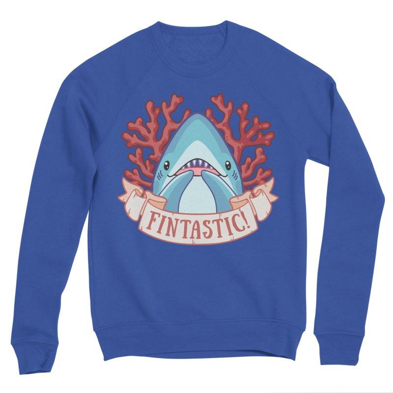 Fintastic! (Thresher Shark) Men's Sponge Fleece Sweatshirt by Byte Size Treasure's Shop
