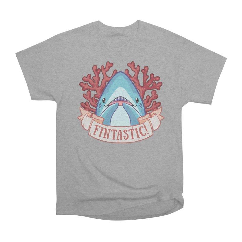Fintastic! (Thresher Shark) Men's Heavyweight T-Shirt by Byte Size Treasure's Shop