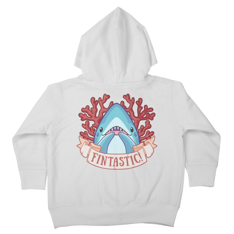 Fintastic! (Thresher Shark) Kids Toddler Zip-Up Hoody by Byte Size Treasure's Shop