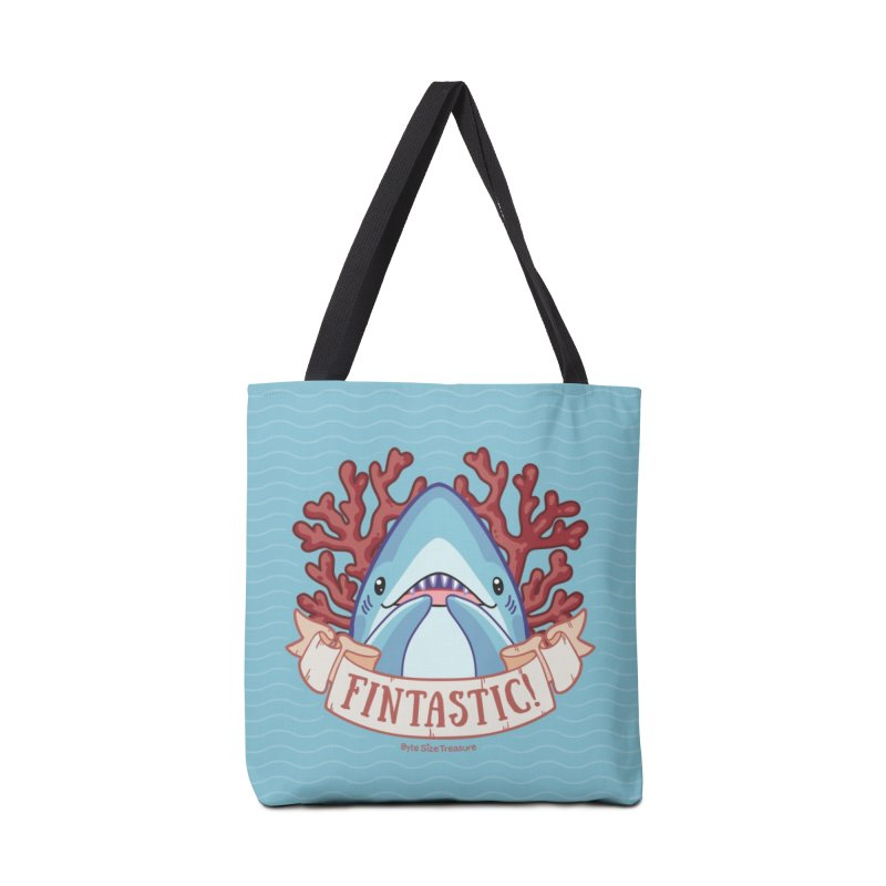 Fintastic! (Thresher Shark) Accessories Bag by Byte Size Treasure's Shop
