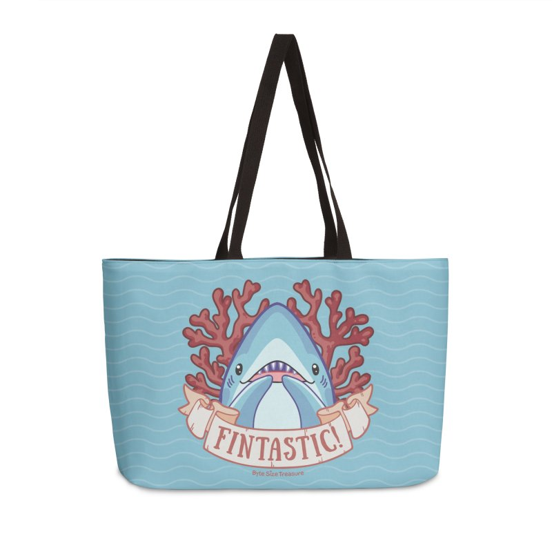 Fintastic! (Thresher Shark) in Weekender Bag by Byte Size Treasure's Shop
