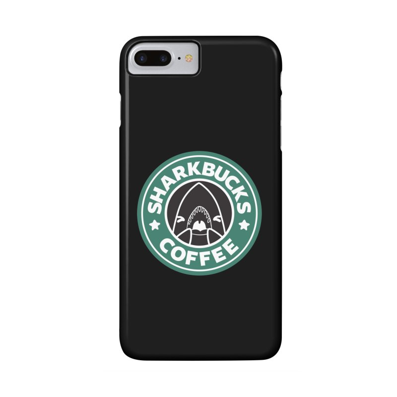 SHARKBUCKS (green) in iPhone 7 Plus Phone Case Slim by Byte Size Treasure's Shop