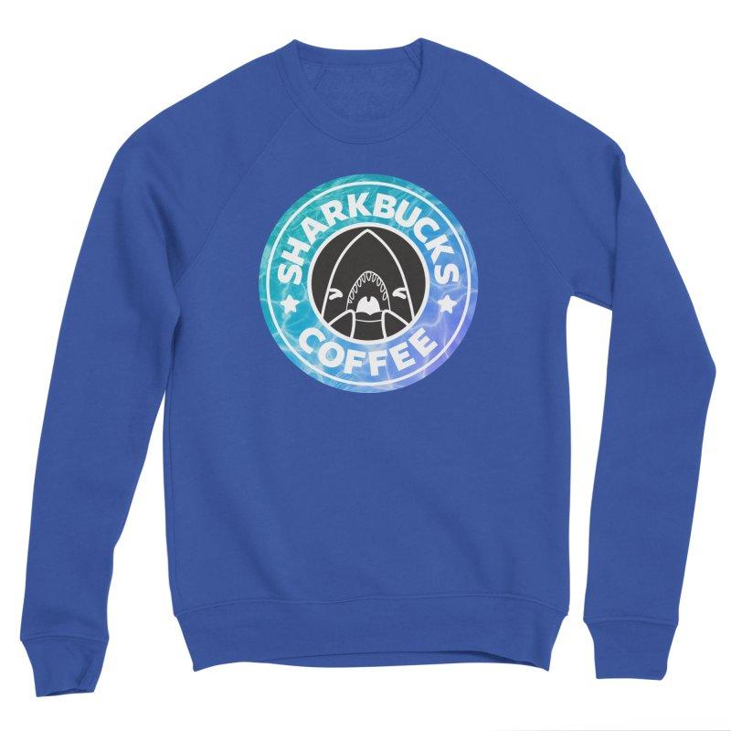 SHARKBUCKS (water) Women's Sponge Fleece Sweatshirt by Byte Size Treasure's Shop