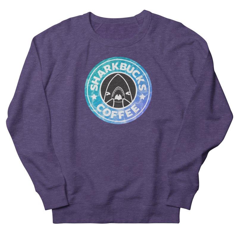 SHARKBUCKS (water) Women's French Terry Sweatshirt by Byte Size Treasure's Shop