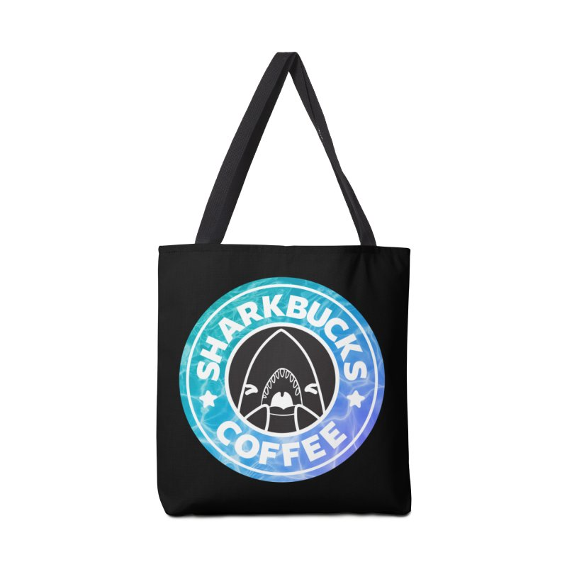 SHARKBUCKS (water) Accessories Bag by Byte Size Treasure's Shop