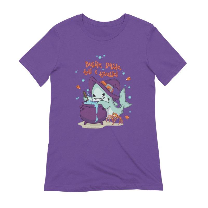 Bubble Bubble Toil & Trouble Women's Extra Soft T-Shirt by Byte Size Treasure's Shop
