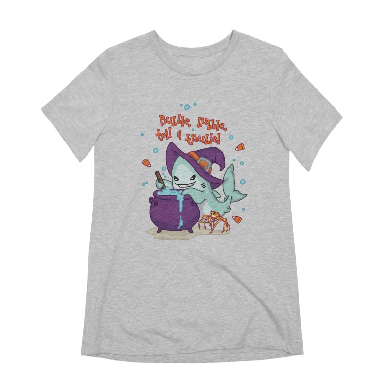 Bubble Bubble Toil & Trouble Women's Extra Soft T-Shirt by Byte Size Treasure's Shop