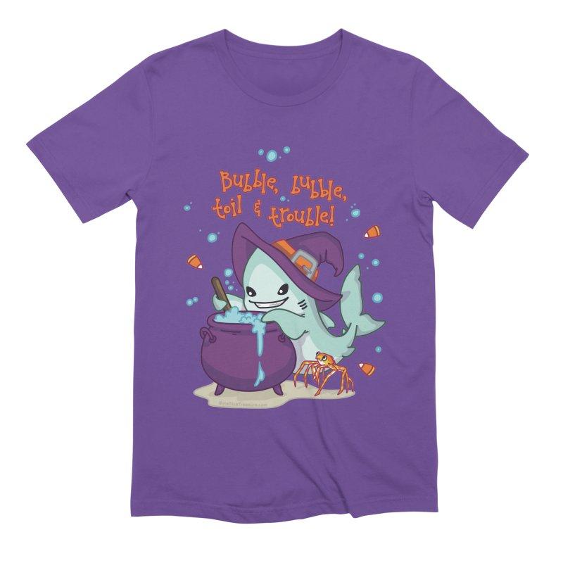 Bubble Bubble Toil & Trouble Men's Extra Soft T-Shirt by Byte Size Treasure's Shop