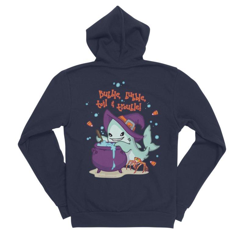 Bubble Bubble Toil & Trouble Men's Sponge Fleece Zip-Up Hoody by Byte Size Treasure's Shop