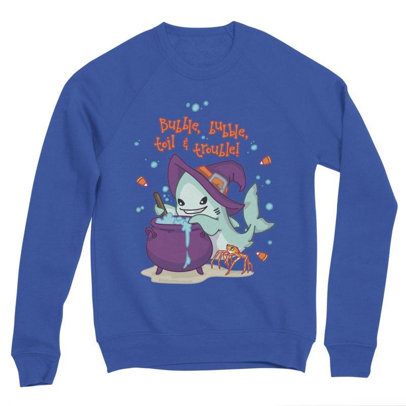 Bubble Bubble Toil & Trouble Women's Sponge Fleece Sweatshirt by Byte Size Treasure's Shop