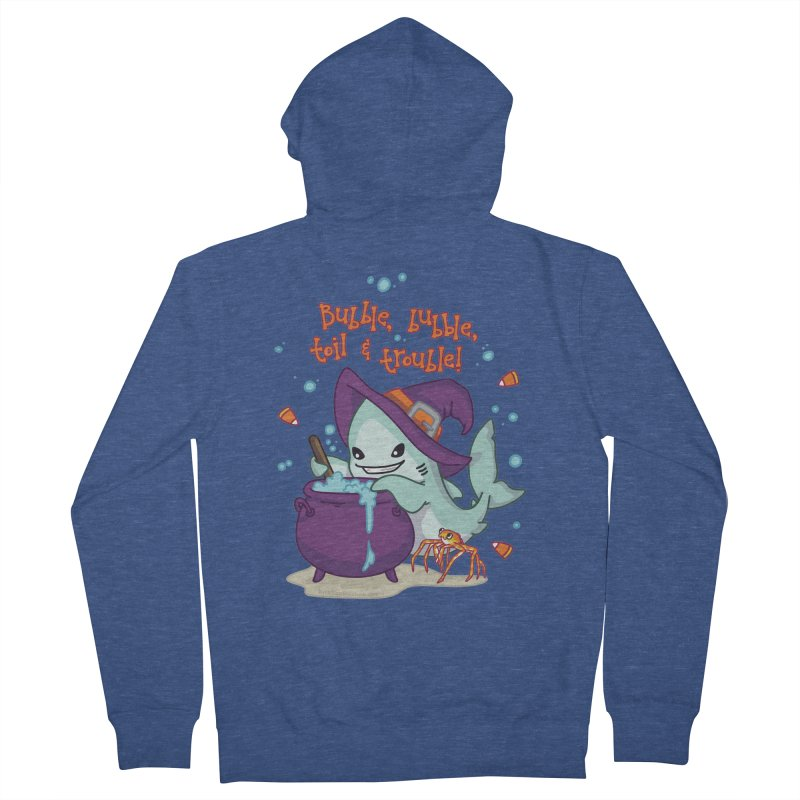 Bubble Bubble Toil & Trouble Men's French Terry Zip-Up Hoody by Byte Size Treasure's Shop