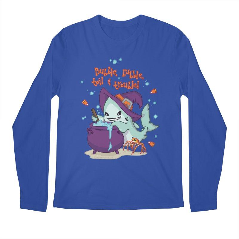 Bubble Bubble Toil & Trouble Men's Regular Longsleeve T-Shirt by Byte Size Treasure's Shop