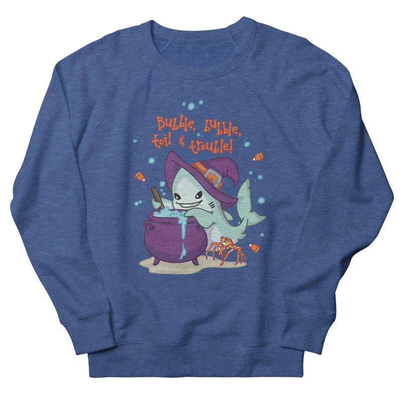 Bubble Bubble Toil & Trouble Men's French Terry Sweatshirt by Byte Size Treasure's Shop