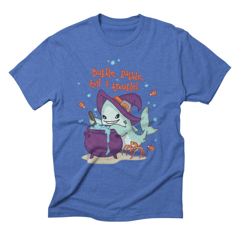 Bubble Bubble Toil & Trouble Men's Triblend T-Shirt by Byte Size Treasure's Shop