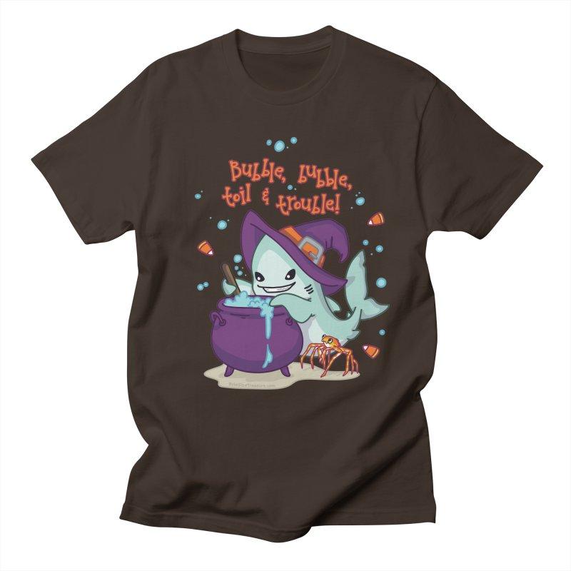 Bubble Bubble Toil & Trouble Men's Regular T-Shirt by Byte Size Treasure's Shop