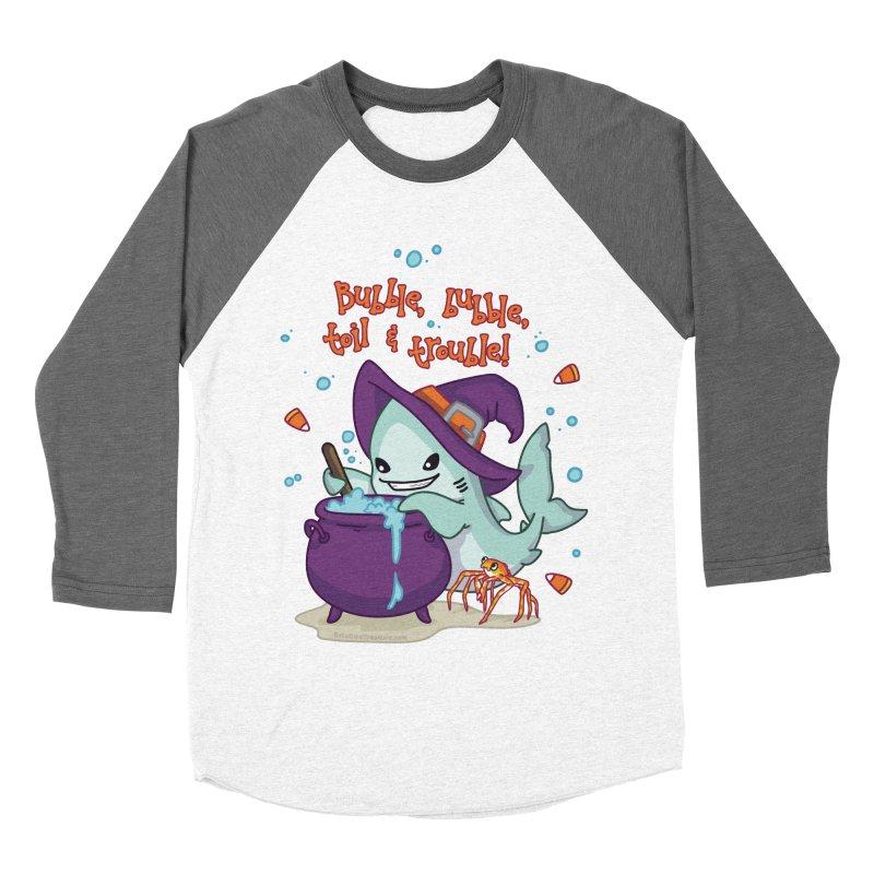 Bubble Bubble Toil & Trouble Women's Baseball Triblend Longsleeve T-Shirt by Byte Size Treasure's Shop