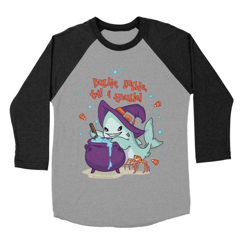 Bubble Bubble Toil & Trouble Men's Baseball Triblend Longsleeve T-Shirt by Byte Size Treasure's Shop