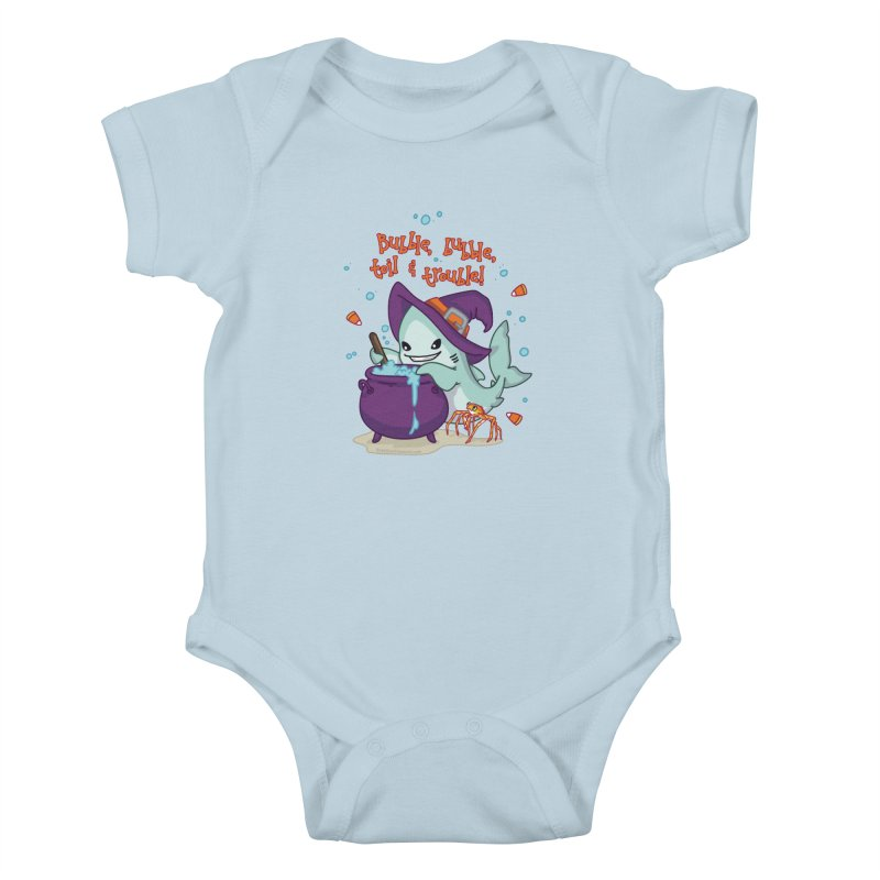 Bubble Bubble Toil & Trouble Kids Baby Bodysuit by Byte Size Treasure's Shop