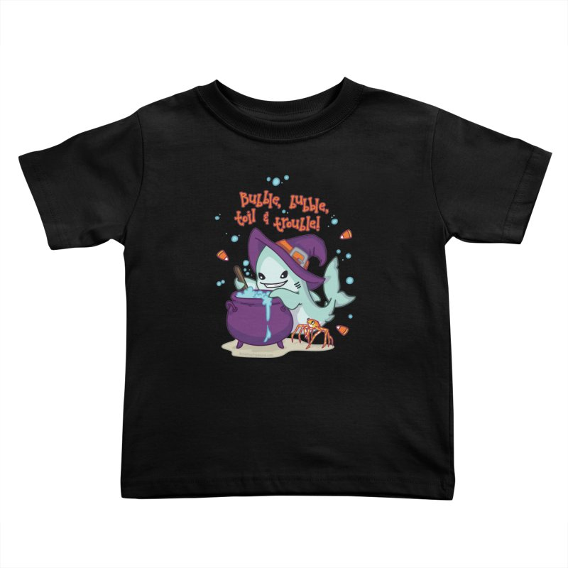 Bubble Bubble Toil & Trouble Kids Toddler T-Shirt by Byte Size Treasure's Shop
