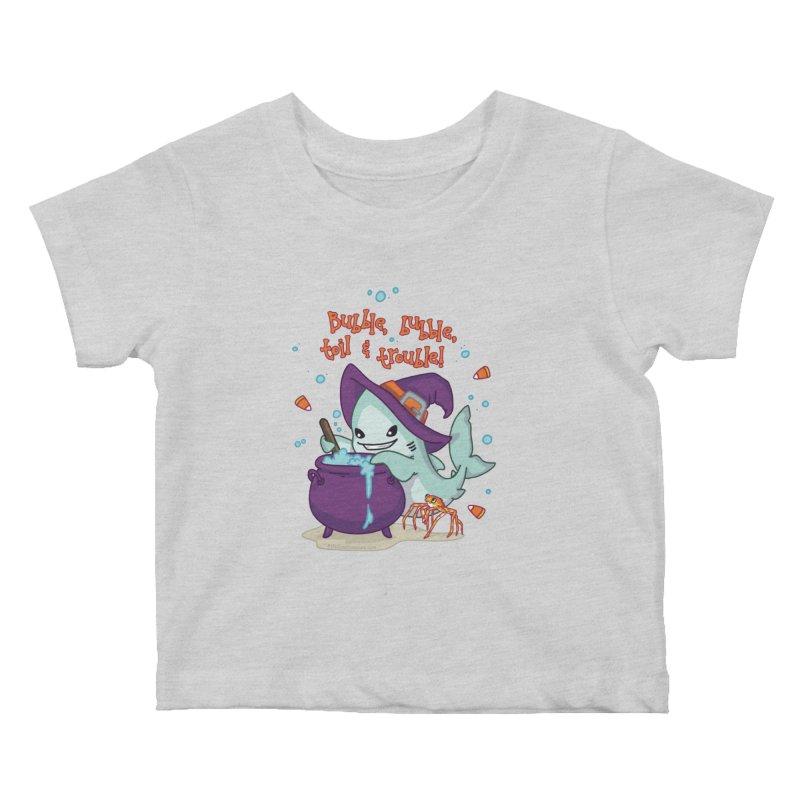 Bubble Bubble Toil & Trouble Kids Baby T-Shirt by Byte Size Treasure's Shop