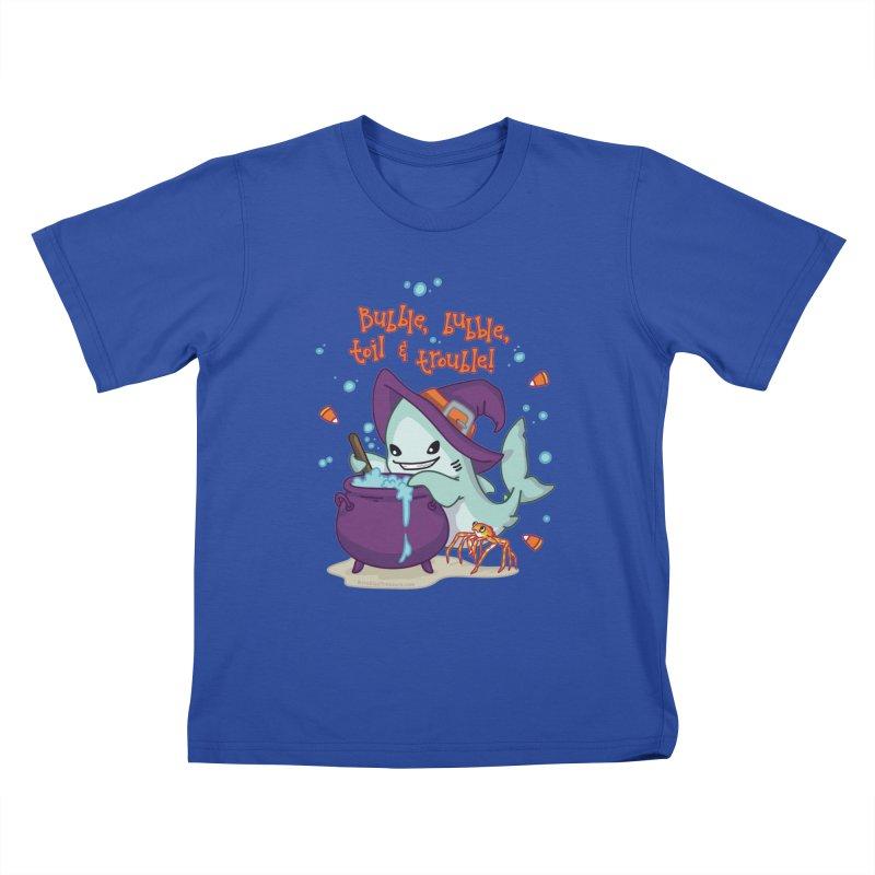 Bubble Bubble Toil & Trouble Kids T-Shirt by Byte Size Treasure's Shop