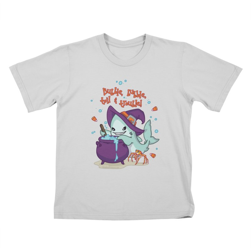 Bubble Bubble Toil & Trouble Kids T-Shirt by Byte Size Treasure's Shop