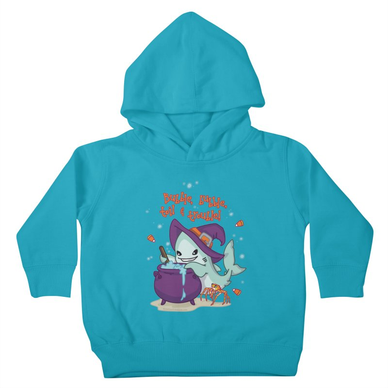 Bubble Bubble Toil & Trouble Kids Toddler Pullover Hoody by Byte Size Treasure's Shop