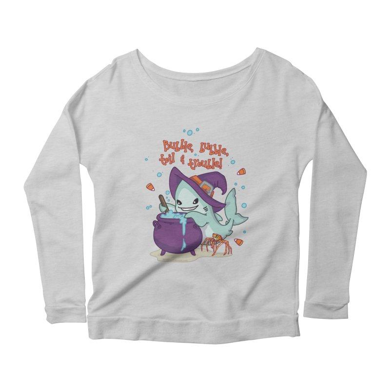 Bubble Bubble Toil & Trouble Women's Scoop Neck Longsleeve T-Shirt by Byte Size Treasure's Shop