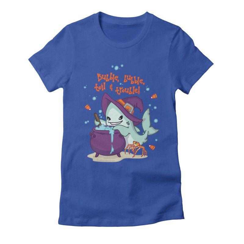 Bubble Bubble Toil & Trouble Women's Fitted T-Shirt by Byte Size Treasure's Shop