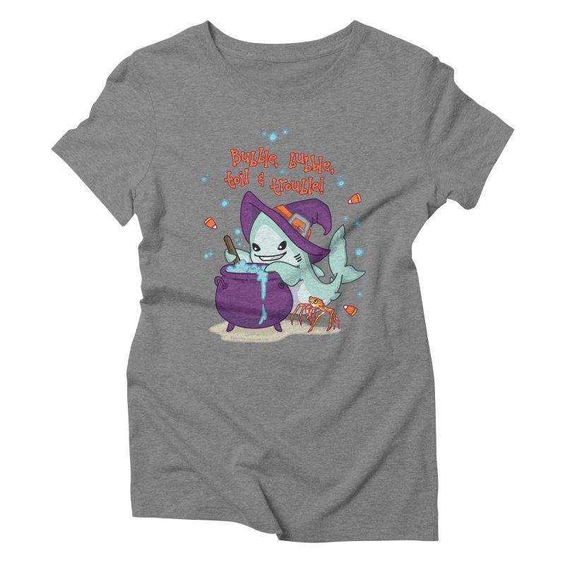 Bubble Bubble Toil & Trouble Women's Triblend T-Shirt by Byte Size Treasure's Shop
