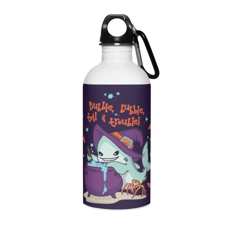 Bubble Bubble Toil & Trouble Accessories Water Bottle by Byte Size Treasure's Shop