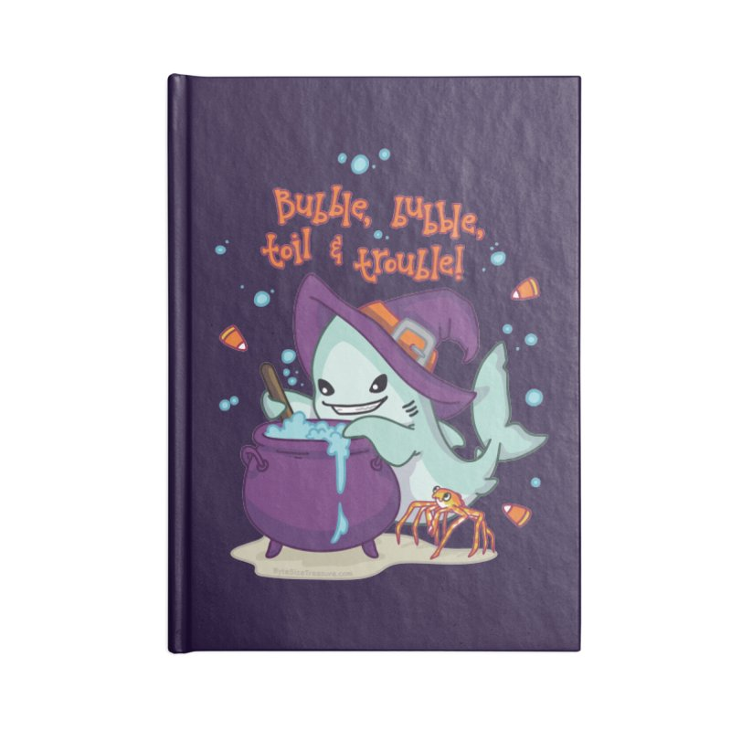 Bubble Bubble Toil & Trouble Accessories Blank Journal Notebook by Byte Size Treasure's Shop