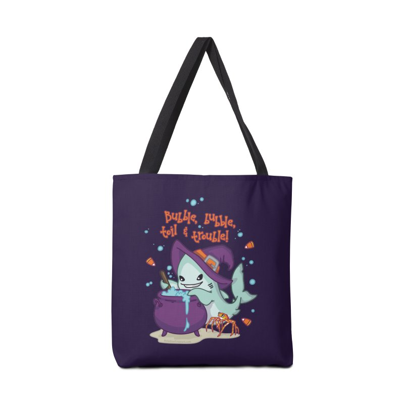 Bubble Bubble Toil & Trouble Accessories Bag by Byte Size Treasure's Shop