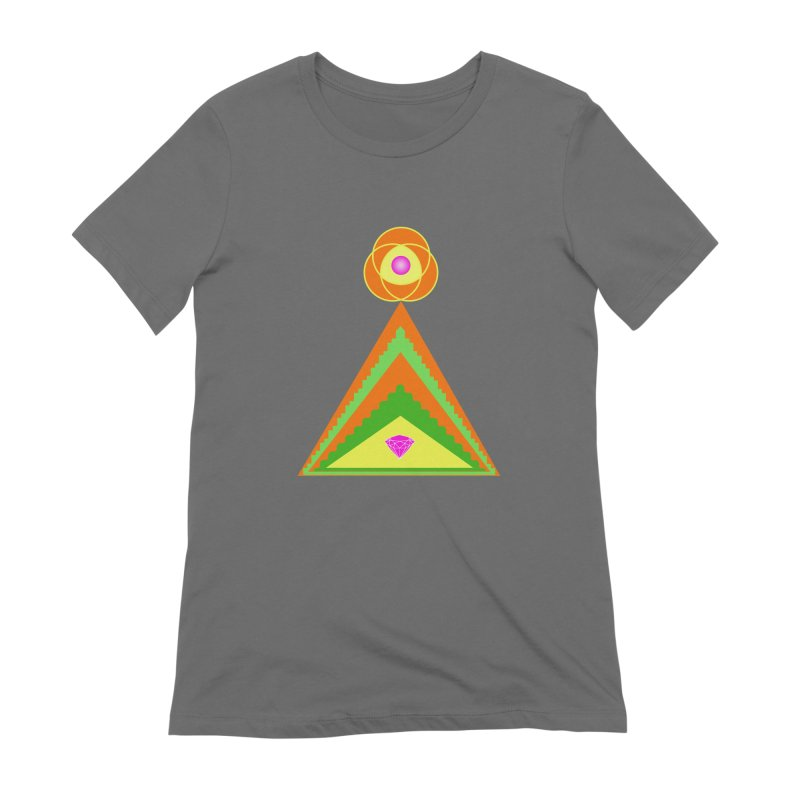 Within the Diamond Pyramid Women's T-Shirt by By the Ash Tree