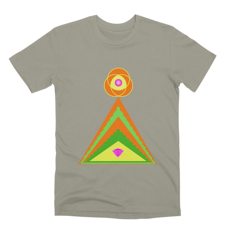 Within the Diamond Pyramid Men's Premium T-Shirt by By the Ash Tree