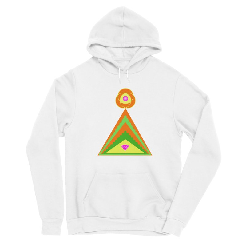 Within the Diamond Pyramid Men's Pullover Hoody by By the Ash Tree