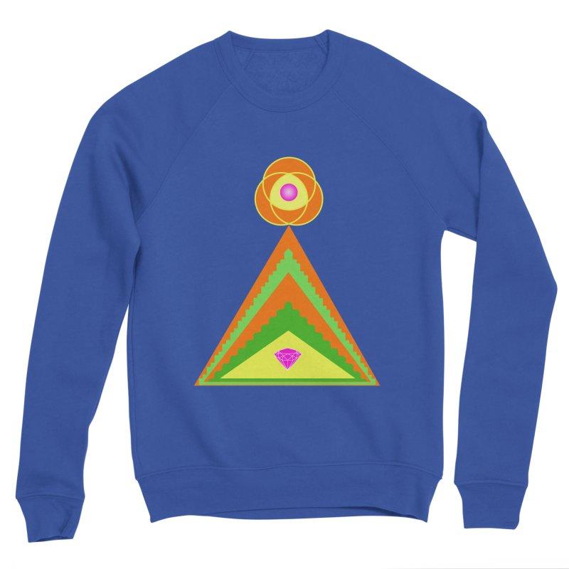 Within the Diamond Pyramid Women's Sponge Fleece Sweatshirt by By the Ash Tree