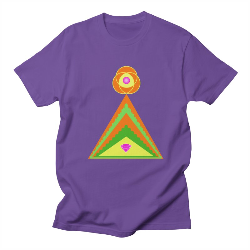 Within the Diamond Pyramid Women's Regular Unisex T-Shirt by By the Ash Tree