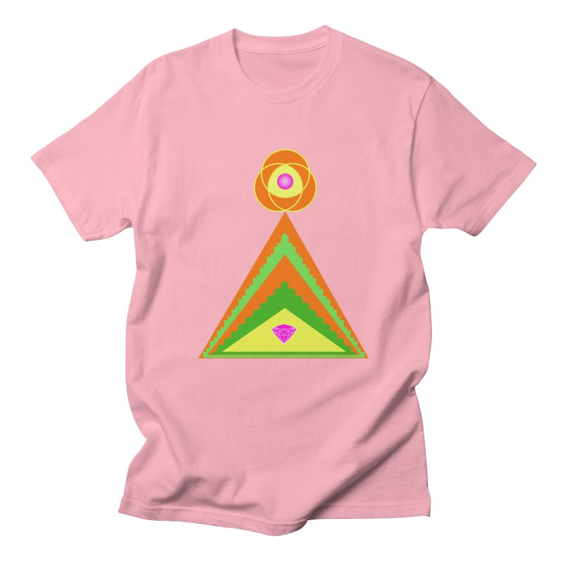 Within the Diamond Pyramid Men's T-Shirt by By the Ash Tree