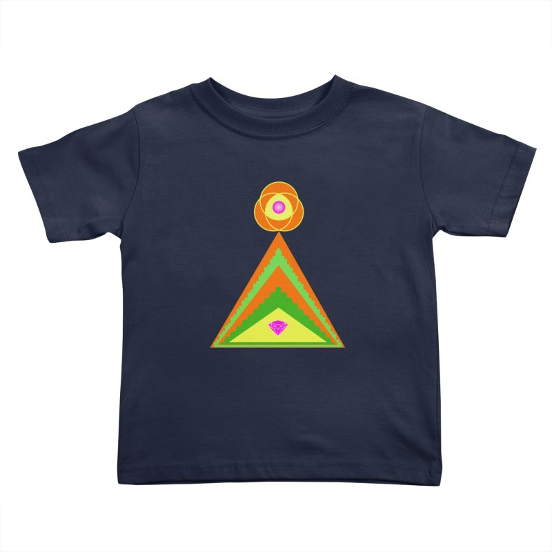Within the Diamond Pyramid Kids Toddler T-Shirt by By the Ash Tree