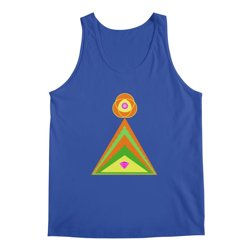 Diamond Pyramid Men's Regular Tank by By the Ash Tree