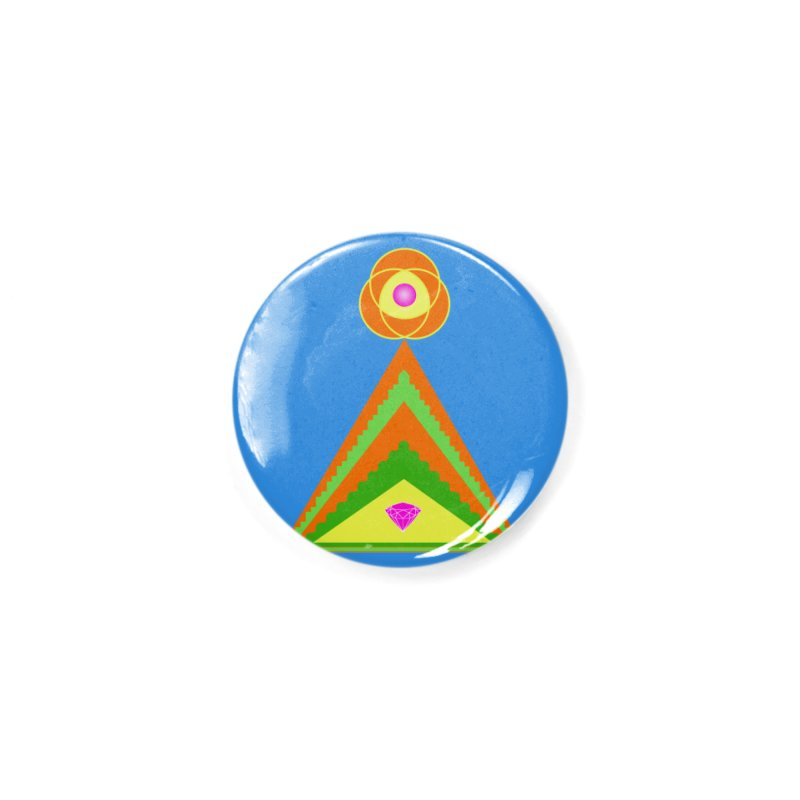 Within the Diamond Pyramid Accessories Button by By the Ash Tree