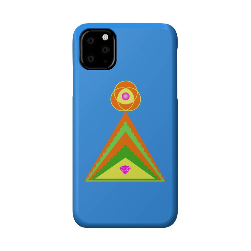 Within the Diamond Pyramid Accessories Phone Case by By the Ash Tree