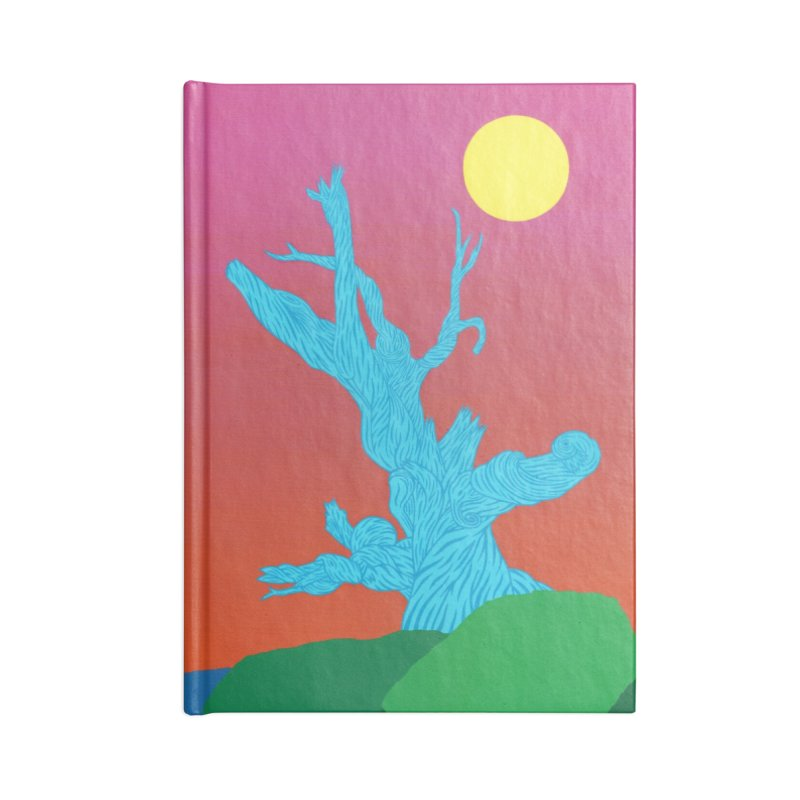 Gifting Tree Accessories Lined Journal Notebook by By the Ash Tree