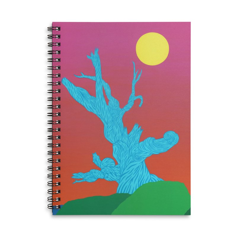 Gifting Tree Accessories Lined Spiral Notebook by By the Ash Tree